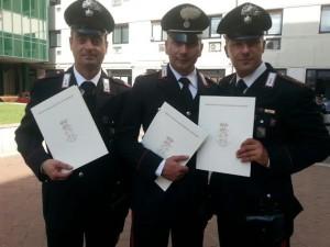 carabiniere premiato