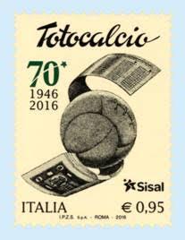 francobollo totocalcio